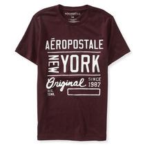 Camiseta Aeropostale Purpura Mod 6820 Original Usa -precinho