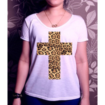 T-shirt Cross Onça Tees