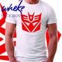 Camisa Wheke T-shirt Transformers Deceptcons Camiseta