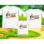 Camiseta Toy Story Personalizado Aniversario Kit Com 3 Peças