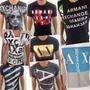 Kit 10 Armani Exchange Camiseta Ax Atacado