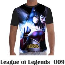 Camisa Camiseta Games League Of Legends Lol 009