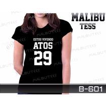 Baby Look Atos 29 Personalizada Gospel Camiseta