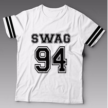 Camiseta Swag 94 Justin Bieber Hip Hop Estampada