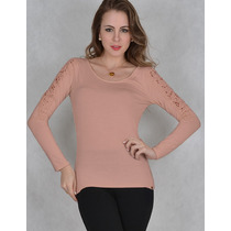 Blusa Visco Soft Mm13479 Marcia Mello