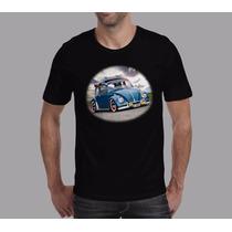 Camisetas Vw Fusca Double Style Camiseta De Carro Antigo