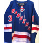 Camisa Do New York Rangers Henrik Lundqvist Reebok Elite