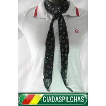 Meio Lenço Gaucho Pampa 1,15cm Escolha A Cor