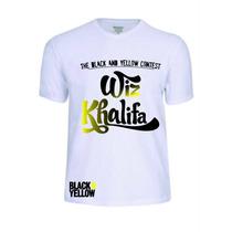Camisas Camisetas Wiz Khalifa Rap Gang Taylor Baby Look Rock