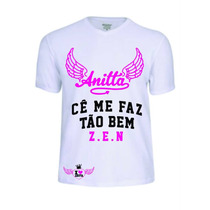 Camisas Camisetas Baby Look Mc Anitta Personalizada Lindas