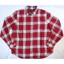 Camisa Camiseta Blusa Xadrez Feminina Flanelada Ralph Lauren