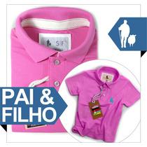 Kit Camisetas Tal Mãe Tal Pai Tal Filho, Tal Pai E Filho