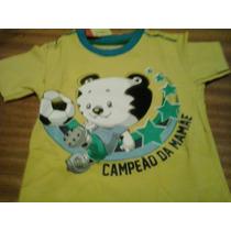 Camiseta Tigor T. Tigre Baby Cod.: 1791661 Tam 1p