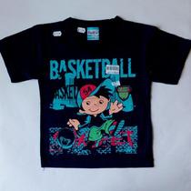 Camiseta Infantil Para Meninos - Tamanho 1 Ao 4