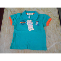 Camiseta Polo Bebê - Masculina - Importada