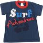 Camiseta De Malha Para Menino Surf Adventure