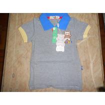 Camiseta Polo Bebê - Masculina