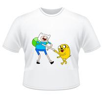 Camiseta Infantil A Hora Da Aventura