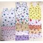 Camiseta Regata Bebê Estampada - Tam. Rn P M G - 3 Peças