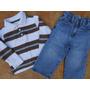 Lote Roupas Importadas Calça Jeans Camisetas Menino 2 Anos
