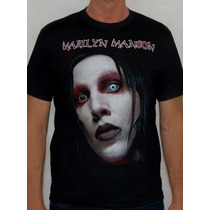 Wow Shop - Camiseta Marilyn Manson - Face