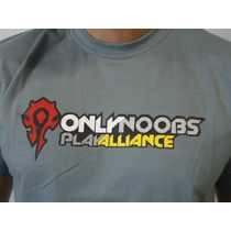 Camisetas - World Of Warcraft Brasil - Wow Brasil