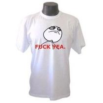 Camiseta Memes Yeah Divertida Panico Engraçada Sátiras