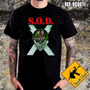 Camiseta De Banda - S.o.d. - Speak English Or Die