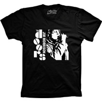 Camiseta Jim Morrison The Doors Banda De Rock 100% Aldogão