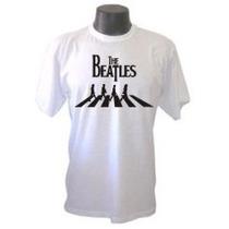Camiseta Beatles 1 Galeria Rock Metal Bandas Camisa