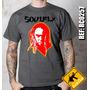 Camiseta De Banda - Soul Fly - Max Cavalera - Rock Club