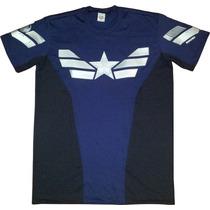 Camiseta Capitão America 2 - Soldado Invernal - Steve Rogers