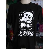 Camiseta Brutus,popeye,doug,super Herois E Desenhos