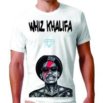 Rap Swag Estilo Ed Hardy Tatoo Whiz Kalifa Camiseta Plt