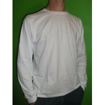 Camiseta Manga Longa 100% Algodão
