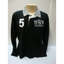 83-camiseta Beagle Masculina Polo Preta Com N° 5