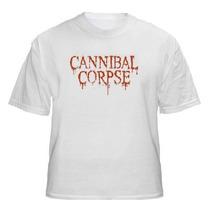 Camiseta Cannibal Corpse | Logo Death Metal | Frete Grátis