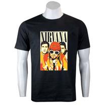 Camiseta / Camisa Nirvana