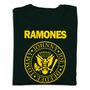 Camisetas Ramones Punk Rock Música Masc E Fem Vários Modelos