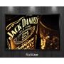 Quadro Marcas Bebidas Jack Daniels Coca Cola 50x40cm Rockliv