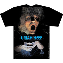 Camisetas - Uriah Heep, Pink Floyd, The Who - Promocional