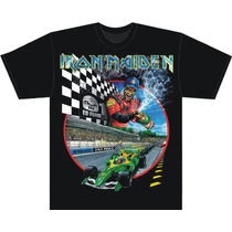 Camiseta Iron Maiden - Run To Interlagos