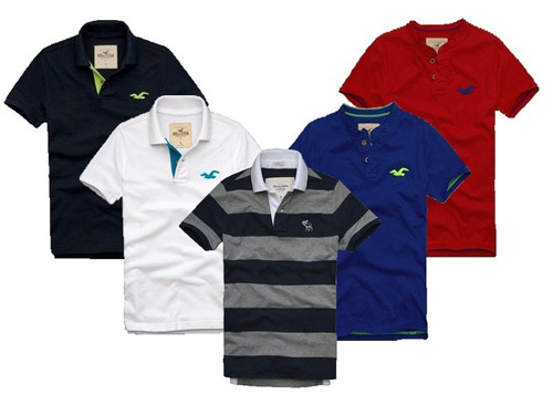 Camisetas Polo Abercrombie & Fitch E Hollister!!!