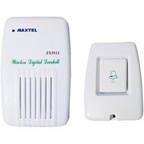 Campainha Sem Fio Maxtell Ding Dong Bi-volt Wi Fi Wireless