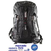 Mochila Sport Camping Escolar Trilhas E Moto 50 Litros