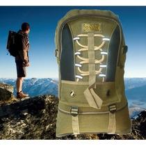 Mochila Camping Lona Reforçada Esporte Trilha Viagem Top