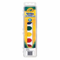 Material Escolar -aquarela Estojo 8 Cores Crayola C/ Pincel