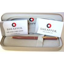 Caneta Esferoráfica Sheaffer Agio 9091-2 - Laca Marrom