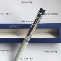 Caneta Swarovski Crystalline Lady Ballpoint Pen Branca