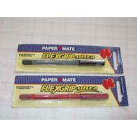 Caneta Esferográfica Lacradas Paper Mate Flexgrip Ultra Fine